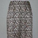 Vintage Alberto Makali for Cache Leopard Print Above the Knee Skirt 4