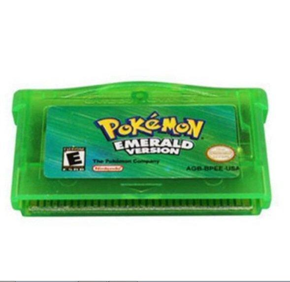 Pokemon Cartridge Game Card GBA Emerald Version