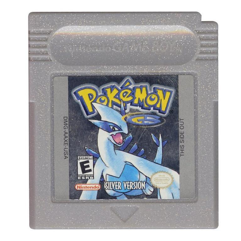Retro Cartridge Game Boy Card Pokemon Silver For GBC Console