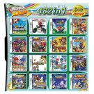 Multi Game Card 482 in 1 NDS Mario Kart Sonic For DS Console