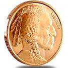US Coin 1 oz Copper Round - Buffalo Nickel