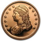 US Coin 1 oz Copper Round - Capped Bust