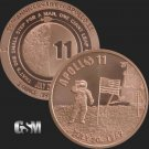 Coin 1 oz Copper Round - Apollo 11 50th Anniversary