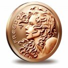 Coin 1 oz Copper Round - Freedom Girl