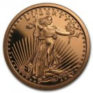 Coin Set 100 Pcs - 1 oz Copper Rounds Saint Gaudens