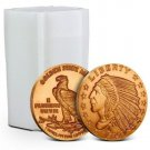 Coin Set 20 - 1 oz Copper Rounds Incuse Indian