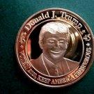 US Coin Trump Keep America Prosperous - Vote 2020 1 Oz Copper Round