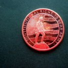 Coin 2nd Amendment Constitutional Right to Bear Arms 1 Oz Copper Round