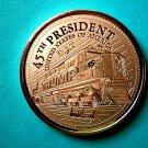 Trump Train 1oz AVDP Proof Like Copper Round Coin