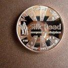 Silk Road 2nd In Series Bitcoin 1 Oz Copper Coin