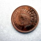 Coin US Indian Head Cent - 1/2 oz Copper Round
