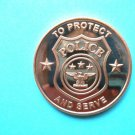 Coin Police Department 1oz Copper Round