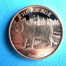 Coin The Ice Age - Cave Lion 1Oz Copper Round