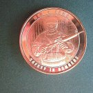 Coin US Men Arms Safety in Numbers 1 Oz Copper Rounds