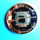 Coin US Winchester 73 Rifle Years Produced 1873-1919 1 oz Copper Round