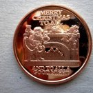 Coin US Merry Christmas To All Goodnight 1 oz Copper Round