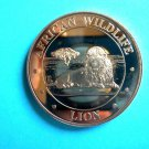 Coin US African Lion 1 oz Copper Round