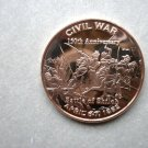Coin US Civil War Series Battle of Shiloh 1 oz Copper Round