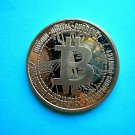 Coin US Bitcoin Digital Currency 1 oz Copper Round