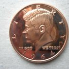 Coin US 1964 John F Kennedy 1 oz Copper Round