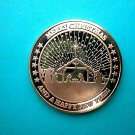 Coin US New Merry Christmas Happy New Year 1 oz Copper Round