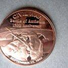 Coin US Civil War Series Battle of Antietam September 17 1862 1 oz Copper Round