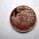 Coin US Civil War Series Siege of Vicksburg 150th Anniversary 1 oz Copper Round