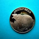 Coin US New Grizzly Bear 1 oz Copper Round