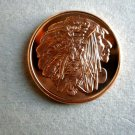 Coin US Chief Red Cloud 1 oz Copper Round