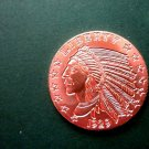 Coin US Incuse Indian 1929 1 oz Copper Round