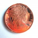 Coin US Walking Liberty 2011 Limited Quantity Available .999 1 oz Copper Round