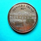 Coin US Trump The White House With 2020 Rally Sign 1 oz Copper Round