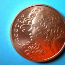 Coin US Freedom Girl 2015 1 Oz Copper Round