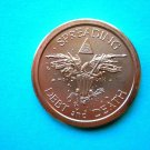 Coin US Spreading Debt And Death Eagle 2016 1 Oz Copper Round