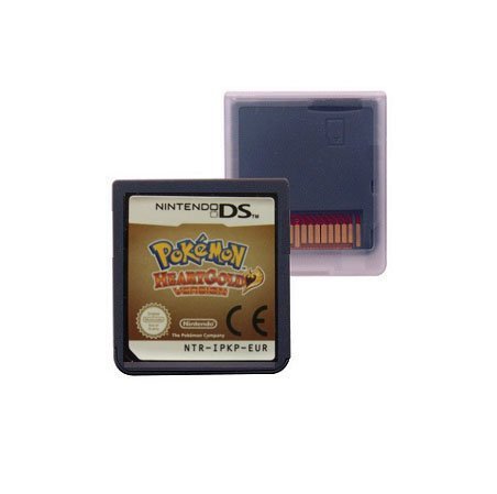 Game Card Pokemon Series HeartGold EUR Fanmade Version For DS Console