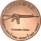 US Coin 1 oz Copper Round - M16