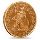 Coin 1 oz Copper Round - British Trade Dollar