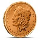 Coin 1 oz Copper Round - Morgue Anne Zombucks
