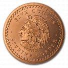 Coin 5 oz Copper Round - Aztec Calendar