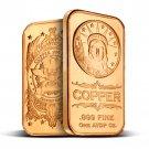 Coins US 1 oz Copper Bar - Statue Of Liberty