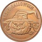 Coin US 1 oz Copper Round - Halloween