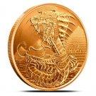 Coin 1 oz Copper Round - Egyptian Dragon