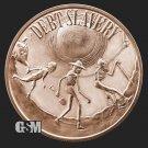 Coin 1 oz Copper Round - Debt Slavery