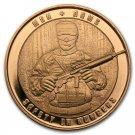 Coin Set 100 Pcs - 1 oz Copper Round Men Arms Safety In Numbers Series