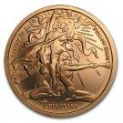 Coin 1 oz Copper Round - Trivium Girls