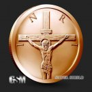 Coin 1 oz Copper Round - Crucifixion 2019