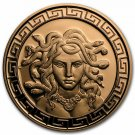 Coin 1 oz Copper Round - Medusa
