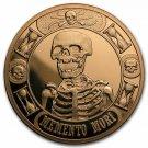 Coin 1 oz Copper Round - Momento Mori