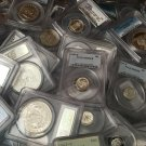 Wholesale Uncirculated PCGS Coin Silver Gold Old Quarter Dime Half Dollar