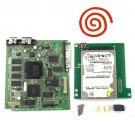 Original Dreamcast VA1 Red Motherboard With 120GB Internal HDD 120 Games